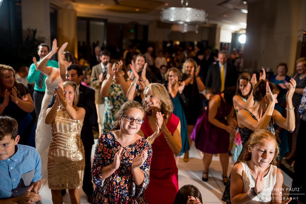 Commerce Club Wedding Photos | Reception dancing