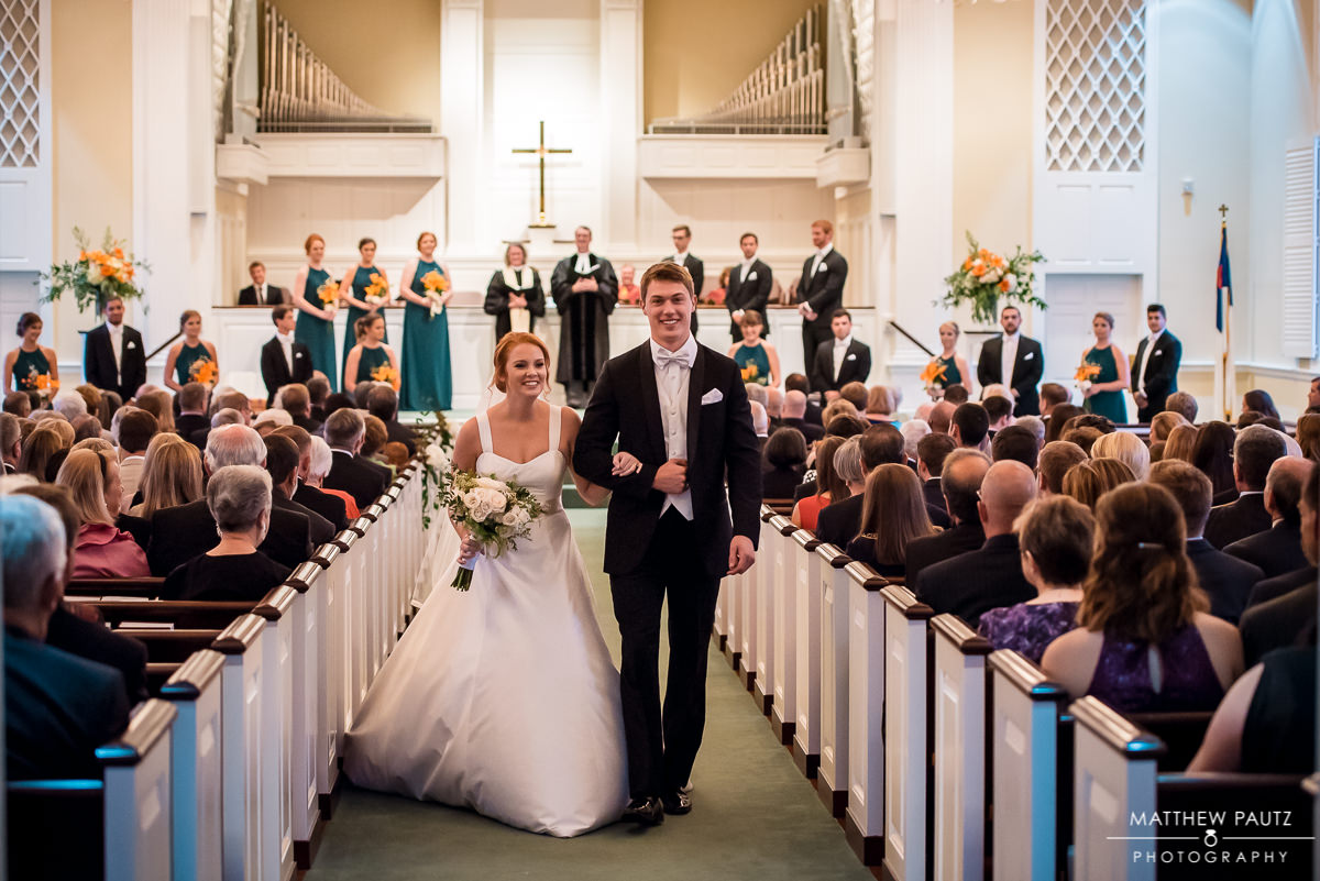 Easley Presbyterian Church Wedding Photos
