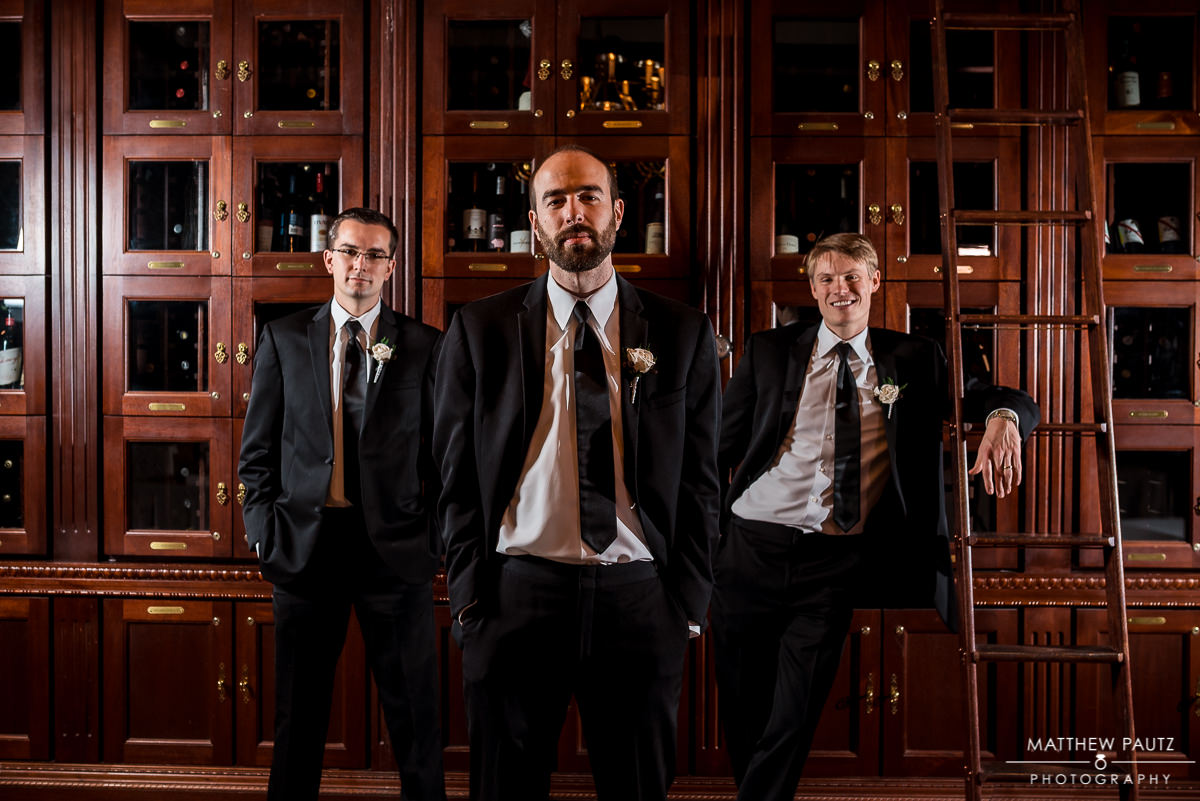 Commerce Club Greenville Groomsmen portrait