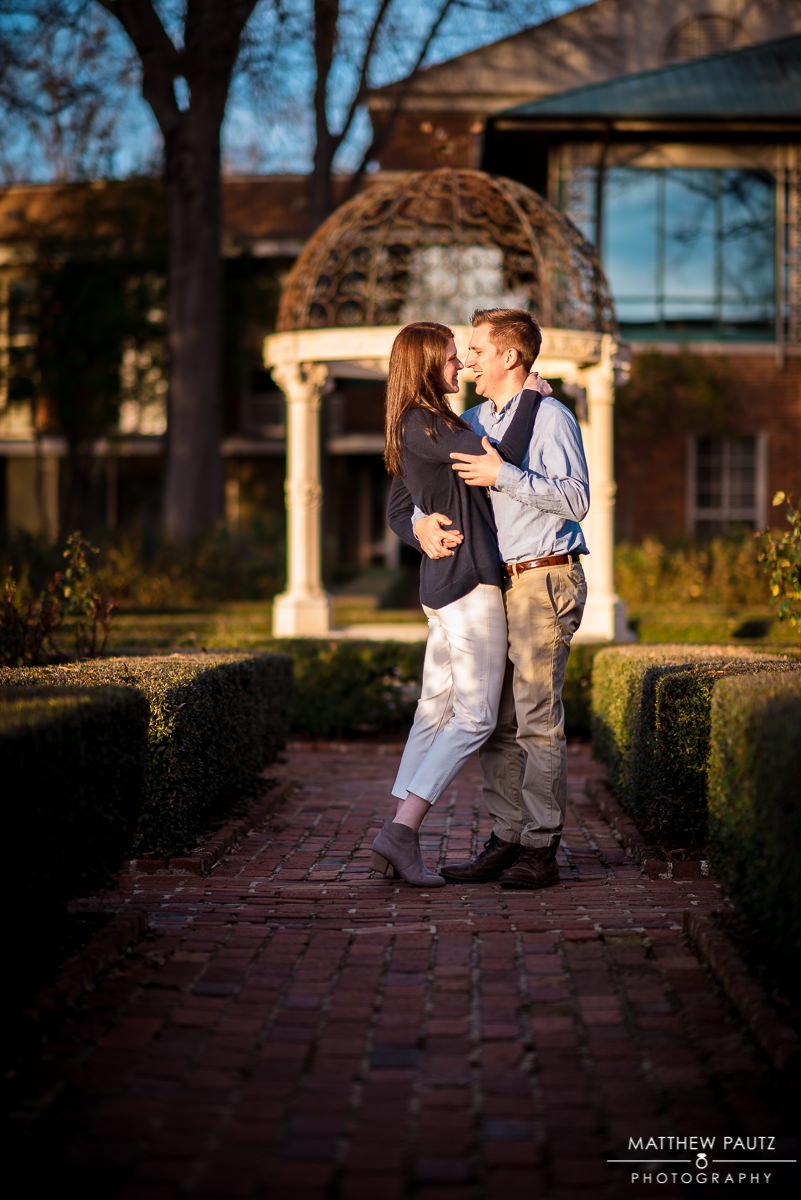Furman University engagement photos