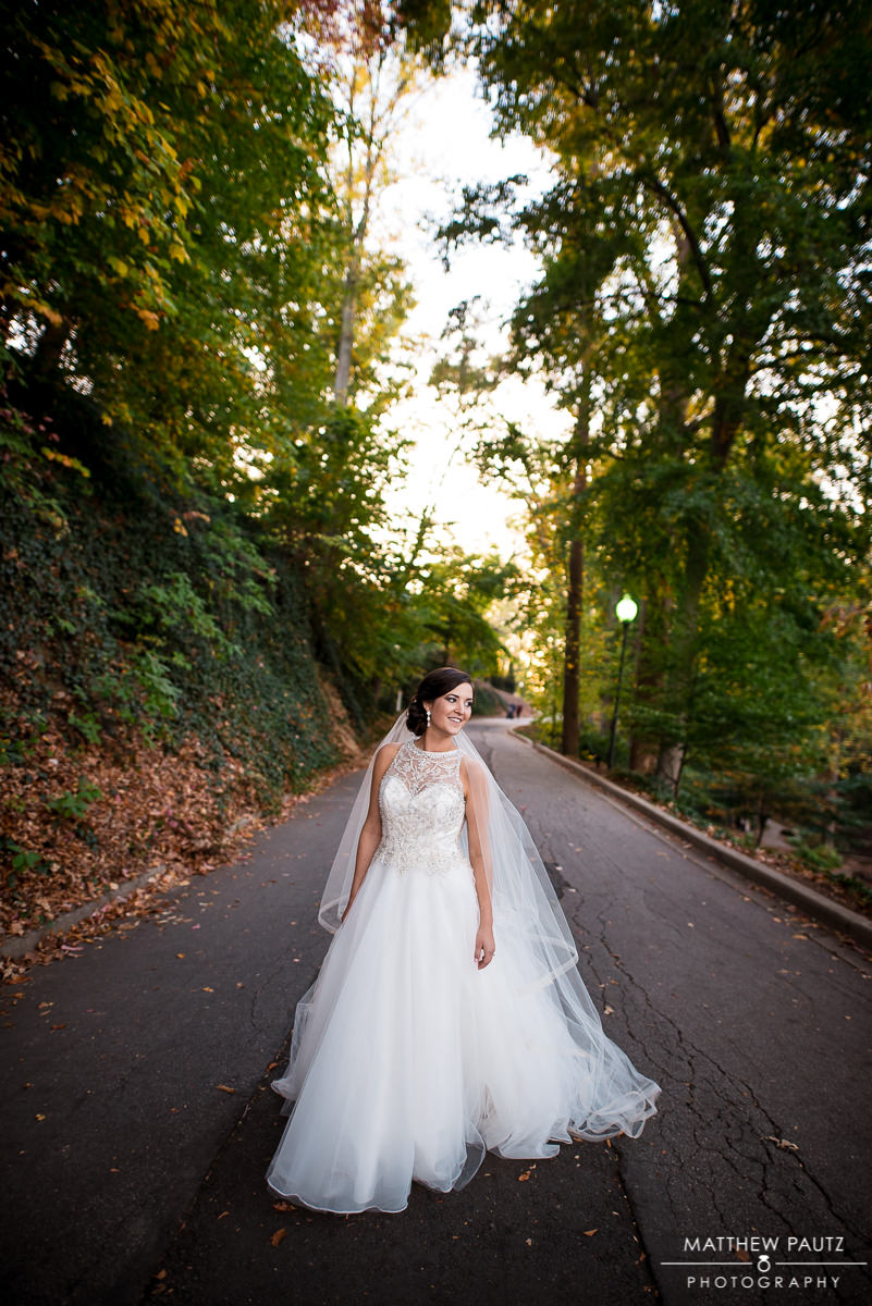 Downtown Greenville Bridal photos