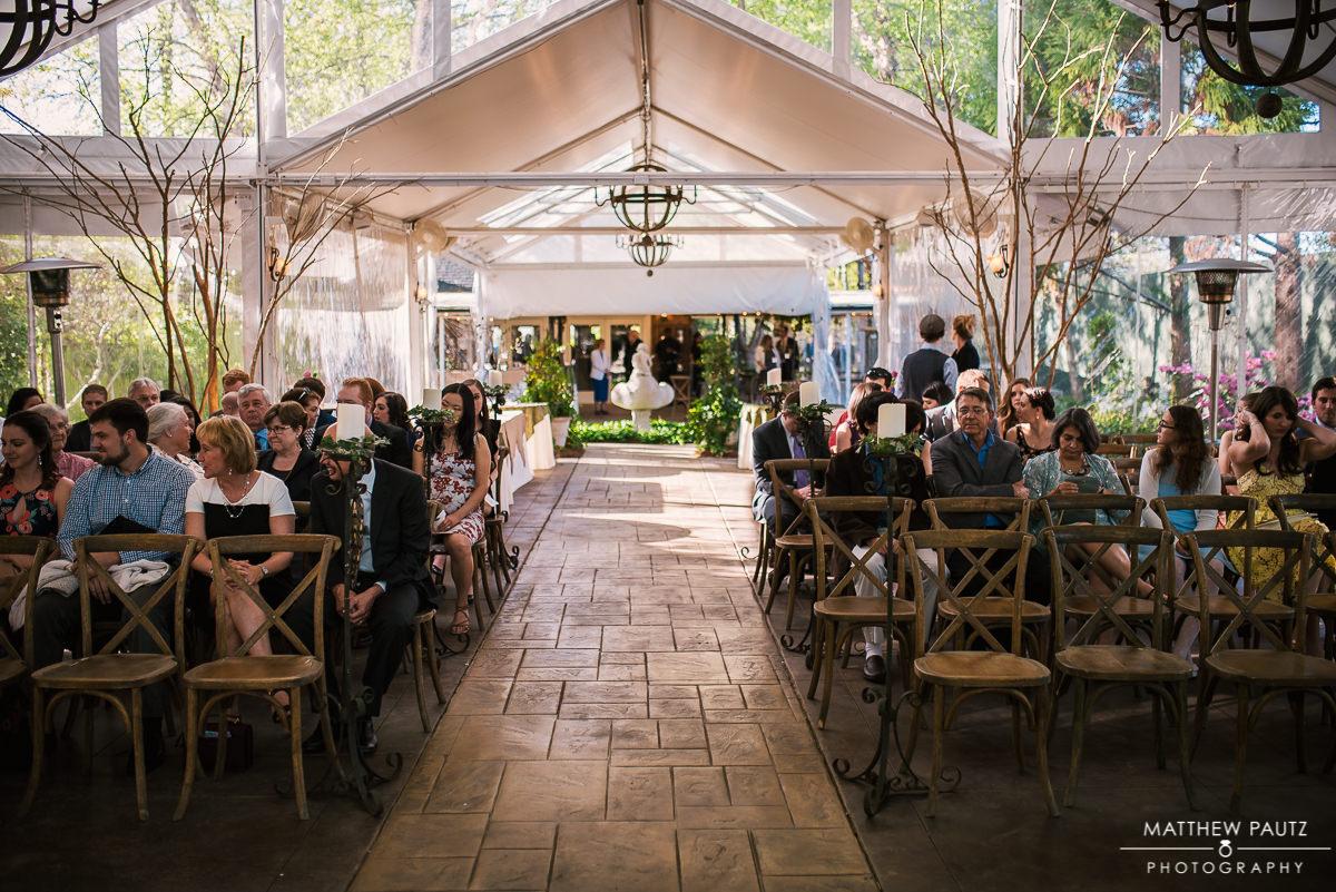 Twigs Tempietto Wedding ceremonyh