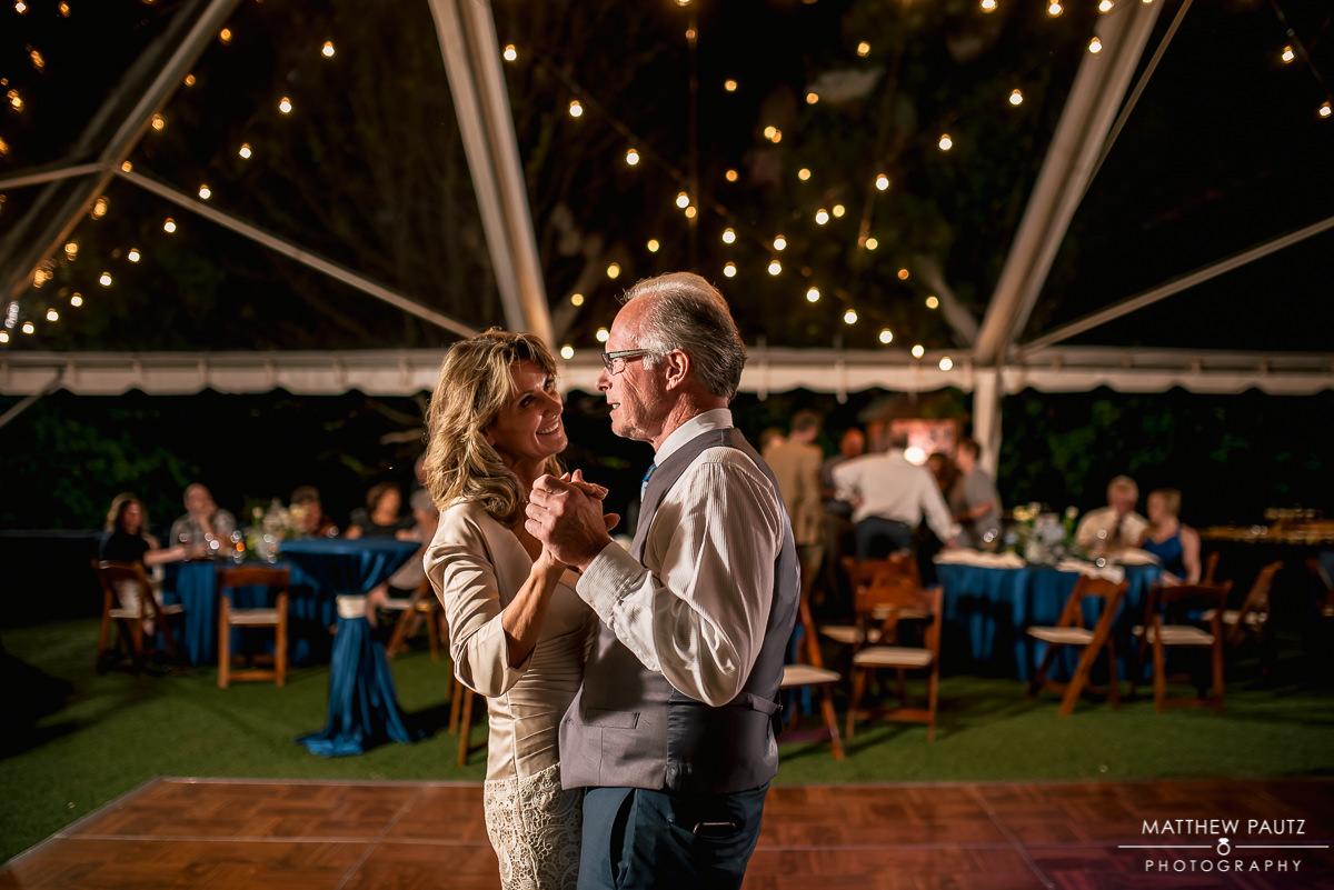 viewpoint at buckhorn creek wedding reception