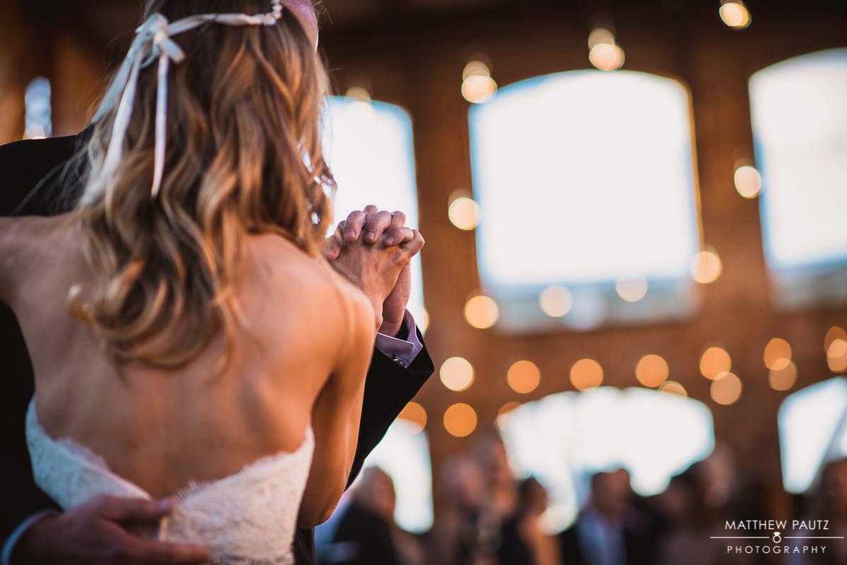 Wyche Pavilion wedding reception photos