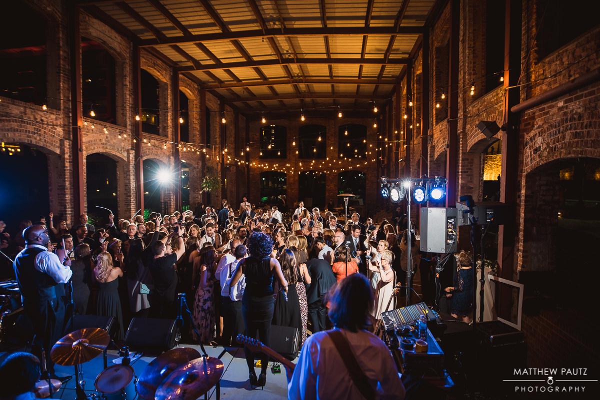Wyche Pavilion night wedding photos