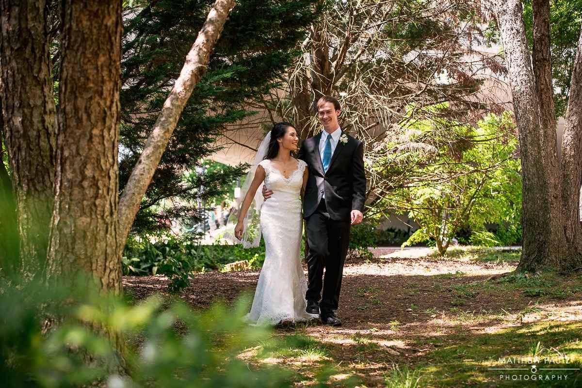 Downtown greenville Falls park Wedding photos