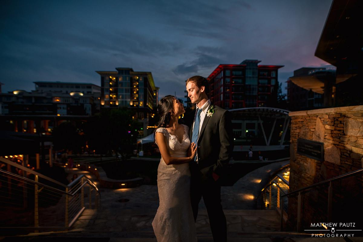 Wyche Pavilion wedding and reception photos